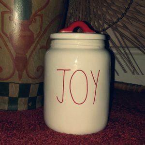 Rae Dunn JOY Jar